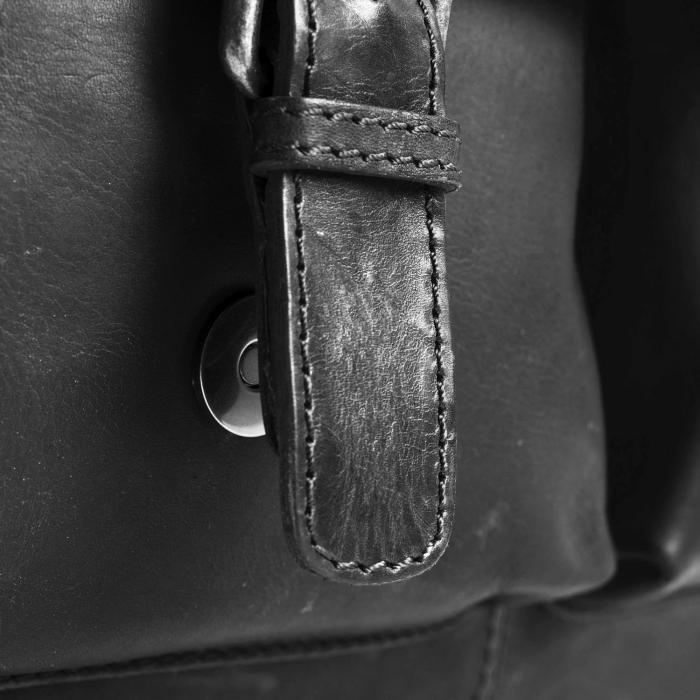 Geanta de laptop din piele naturala, The Chesterfield Brand, George 15 inch, Negru [3]