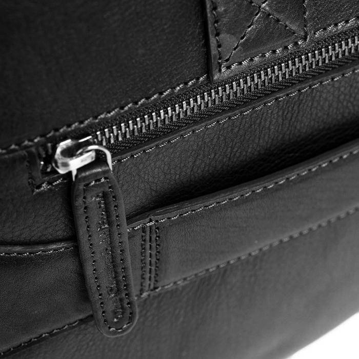 Geanta de laptop din piele naturala, The Chesterfield Brand, Ethan 15.6 inch, Negru [4]