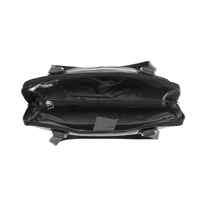 Geanta de laptop din piele naturala, The Chesterfield Brand, Manon, 14 inch, Negru [1]