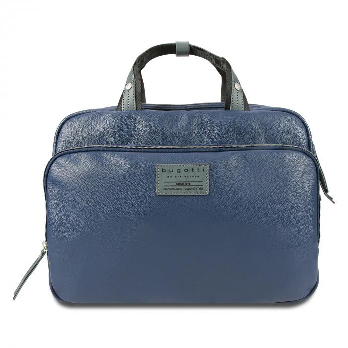 Geanta laptop 13 inch Bugatti Moto D, pentru barbati, bleumarin [3]
