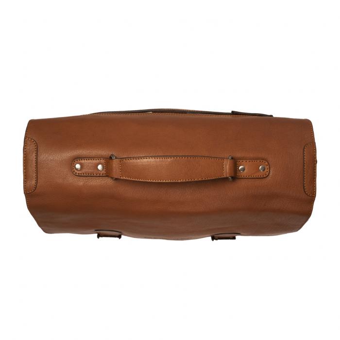 Geanta laptop The Chesterfield Brand, piele naturala, Idaho 15,6 inch, cu 5 compartimente, Maro coniac [4]