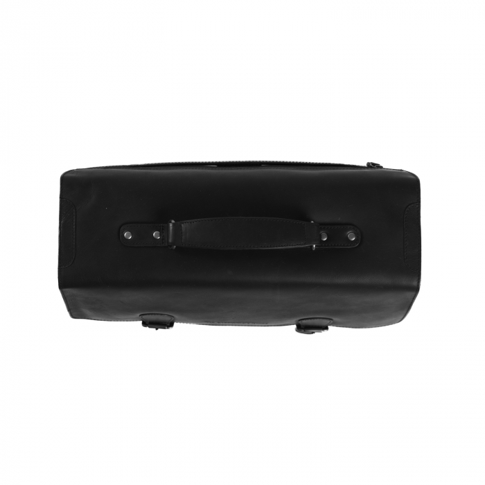 Geanta laptop The Chesterfield Brand, piele naturala, Lisbon 15,6 inch, cu 5 compartimente, Negru [3]