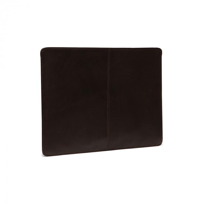 Husa pentru laptop din piele naturala, The Chesterfield Brand, Miami 15 inch, Maro inchis [1]