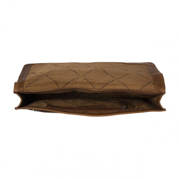 Mapa The Chesterfield Brand pentru acte si tableta, din piele naturala maro coniac, Ivery [3]