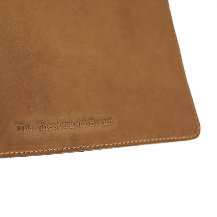 Mouse Pad din piele naturala, The Chesterfield Brand, in cutie cadou, maro coniac [2]