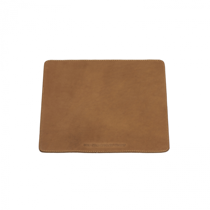Mouse Pad din piele naturala, The Chesterfield Brand, in cutie cadou, maro coniac [1]