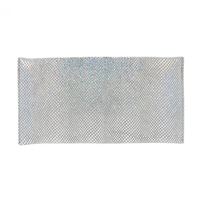 Plic de ocazie din piele naturala argintiu cameleon [2]