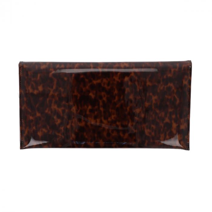 Plic de ocazie leopard din piele lacuita [2]