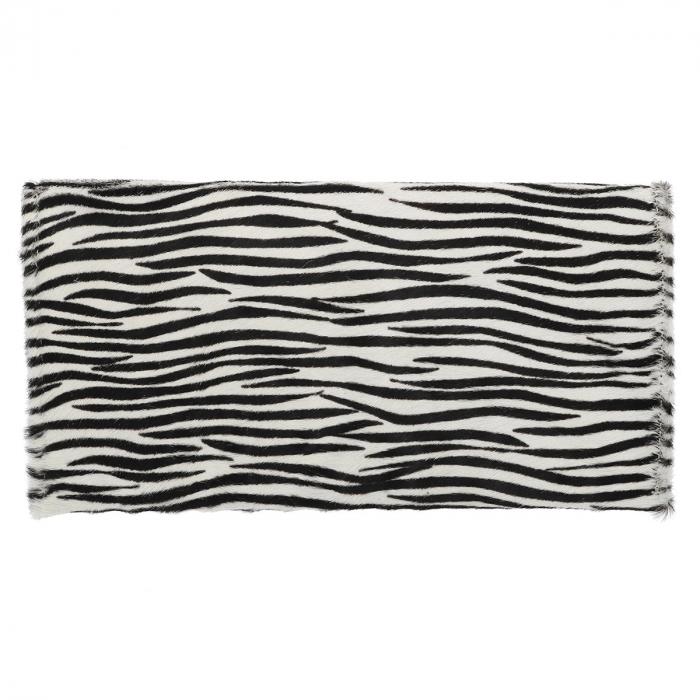 Plic de ocazie model new zebra din piele naturala cu par [2]