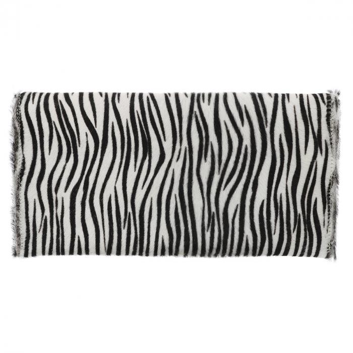 Plic de ocazie model zebra din piele naturala cu par [2]