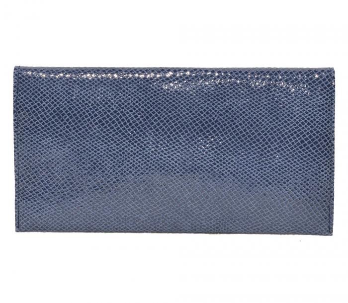 Plic de ocazie piele albastru marin [1]