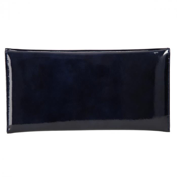 Plic elegant bleumarin din piele saffiano lac [2]