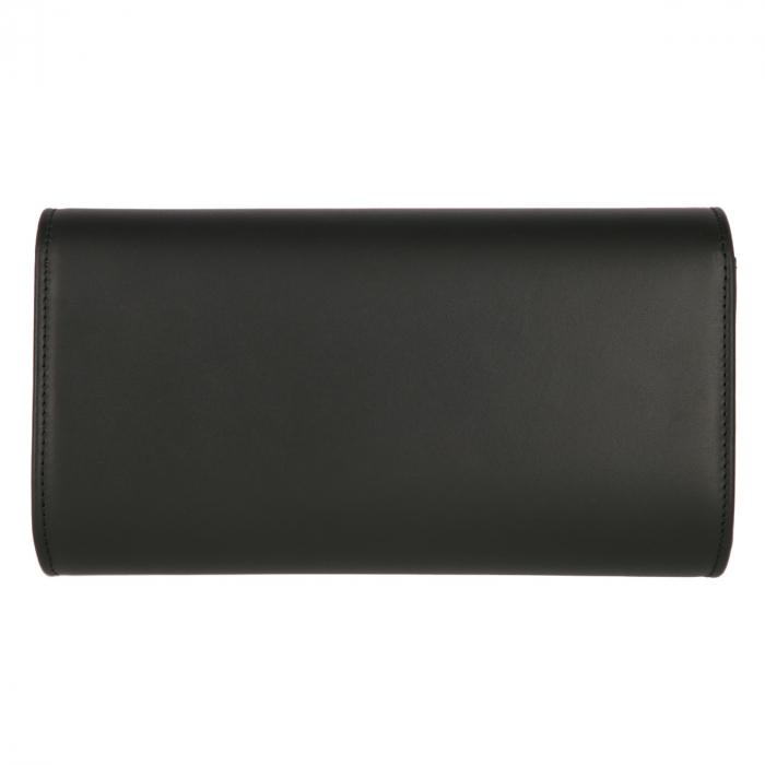 Plic elegant din piele naturala box negru, model 08 [2]