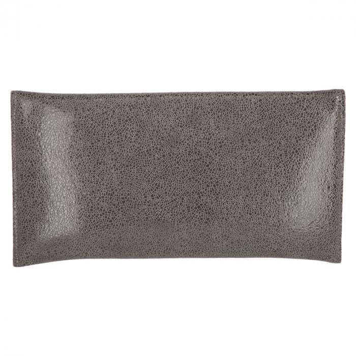Plic elegant din piele naturala gri marmorat [2]