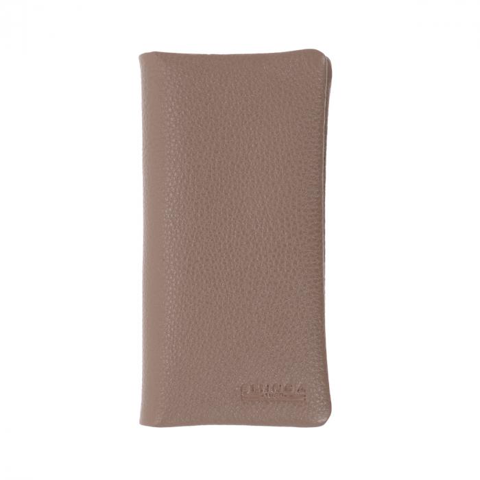 Port carduri din piele naturala moale, nisipiu, model Eminsa 1119 [0]