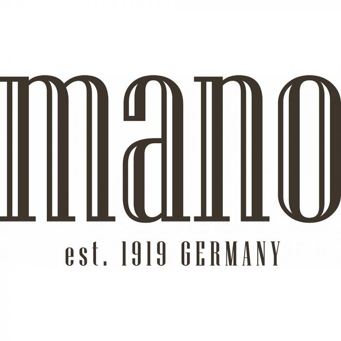 Port chei din piele naturala moale Mano, model M19000, Negru [1]