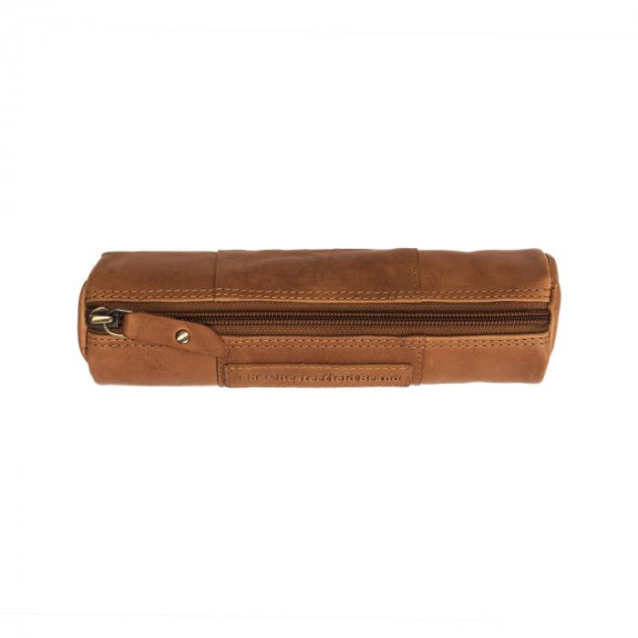 Port stilou, The Chesterfield Brand, din piele naturala maro coniac, Lea [3]