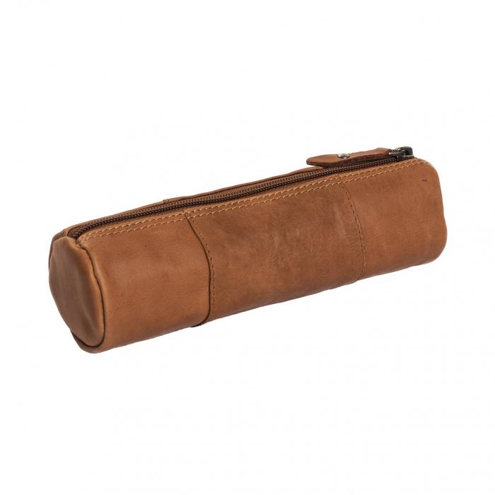 Port stilou, The Chesterfield Brand, din piele naturala maro coniac, Lea [2]