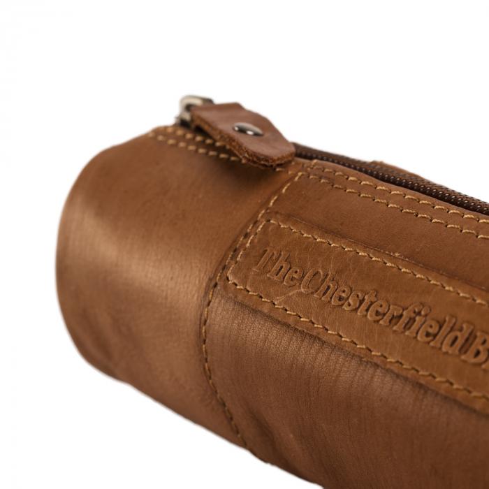 Port stilou, The Chesterfield Brand, din piele naturala maro coniac, Lea [4]