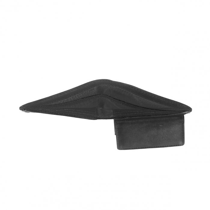 Portofel barbati din piele naturala, The Chesterfield Brand, Enzo, cu protectie anti scanare RFID, Negru [3]