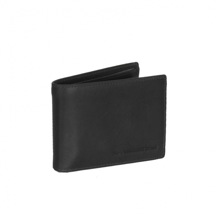 Portofel barbati din piele naturala, The Chesterfield Brand, Marvin, cu protectie anti scanare RFID, Negru [0]