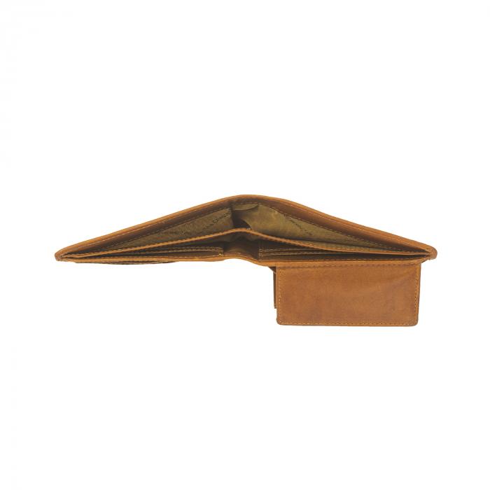 Portofel barbati, The Chesterfield Brand, cu protectie anti scanare RFID, din piele naturala, Walid, Maro coniac [2]