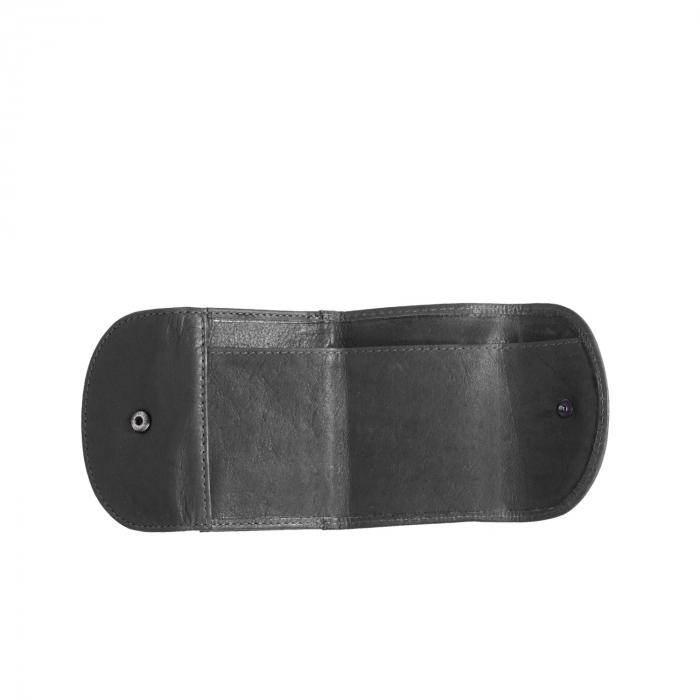 Portofel dama din piele naturala, The Chesterfield Brand, Alma, cu protectie anti scanare RFID, Negru [3]