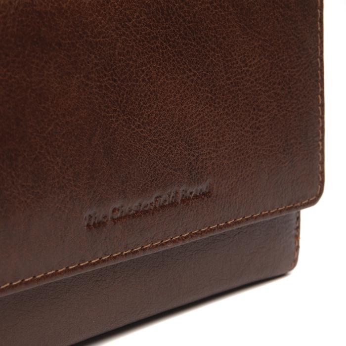 Portofel dama din piele naturala, The Chesterfield Brand, Hagen, cu protectie anti scanare RFID, Maro coniac [4]
