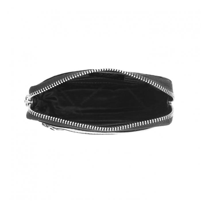 Portofel dama din piele naturala, The Chesterfield Brand, Houston, cu protectie anti scanare RFID, Negru [4]