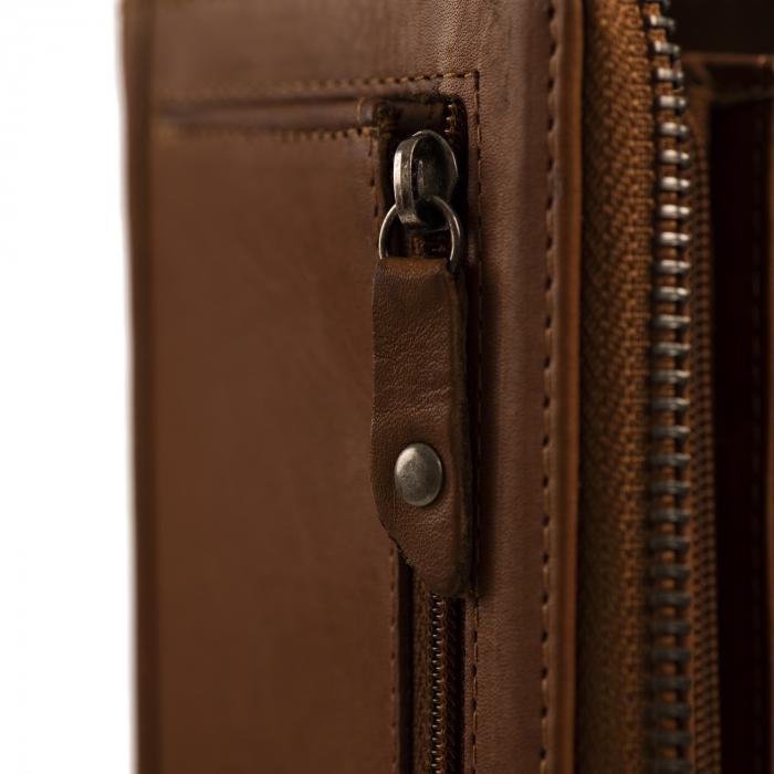 Portofel dama, The Chesterfield Brand, cu protectie anti scanare RFID, din piele naturala, Nova, Bleumarin [7]