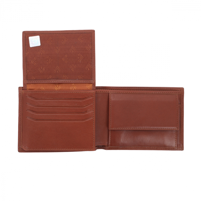 Portofel din piele fina maro coniac Eminsa pentru barbati, model 1013 [3]