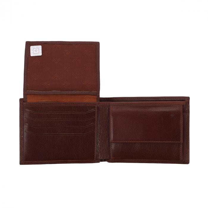 Portofel din piele fina maro coniac Eminsa pentru barbati, model 1057 [3]