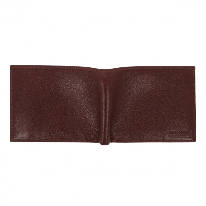 Portofel din piele fina maro coniac Eminsa pentru barbati, model 1057 [4]