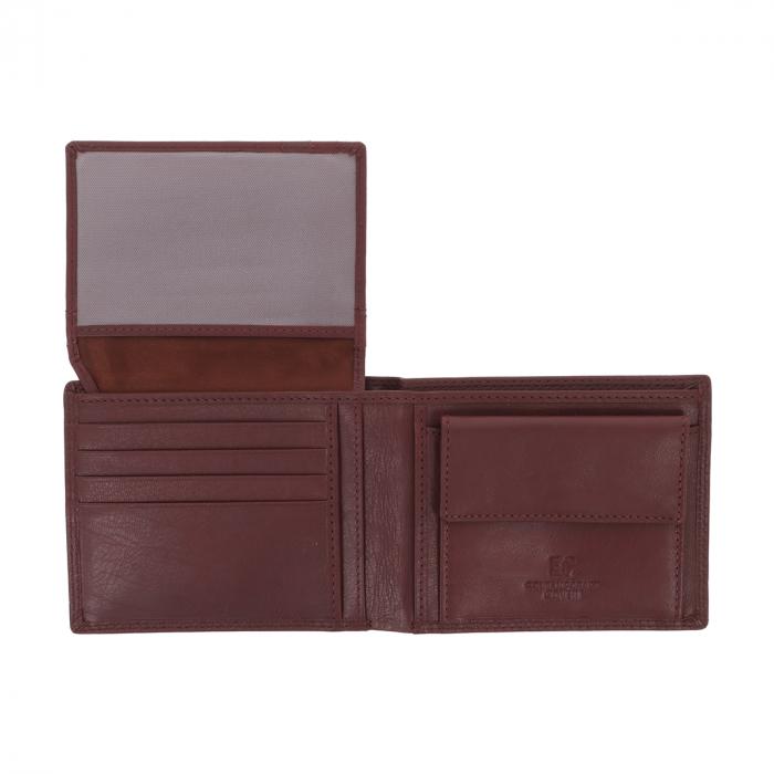 Portofel din piele maro Coveri pentru barbati, model 292 [3]