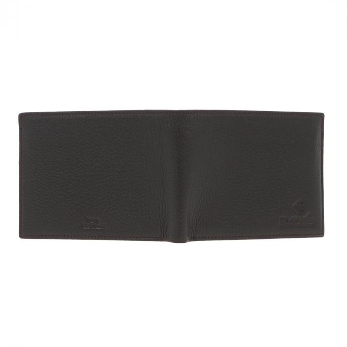 Portofel din piele moale maro inchis Eminsa pentru barbati, model 1057 [4]