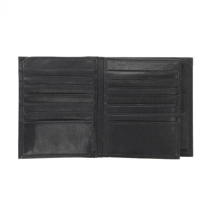 Portofel din piele neagra Valentini pentru barbati, model 255 [3]