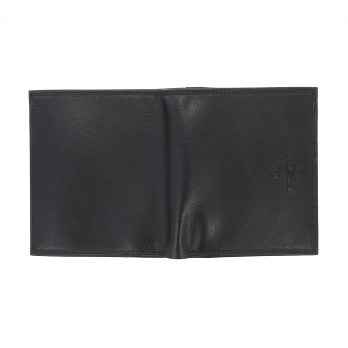 Portofel din piele neagra Valentini pentru barbati, model 255 [4]