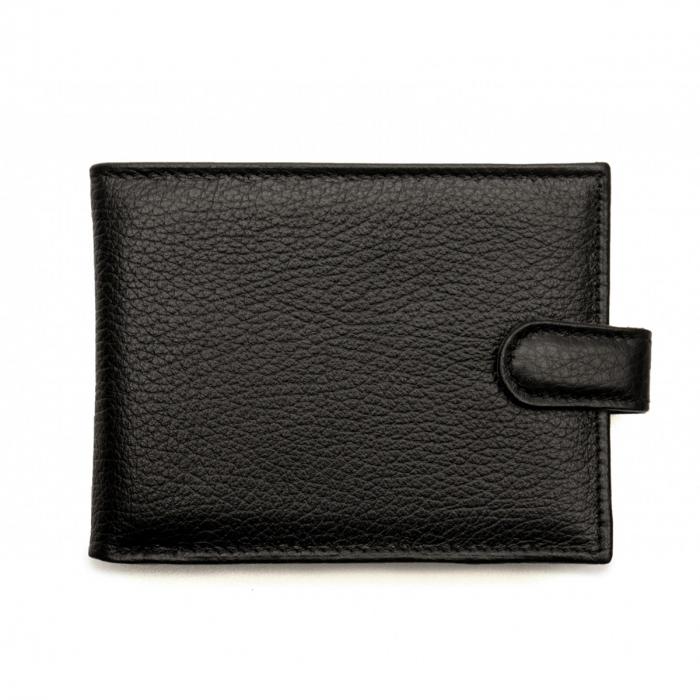 Portofel din piele pentru barbati,negru S106 [0]