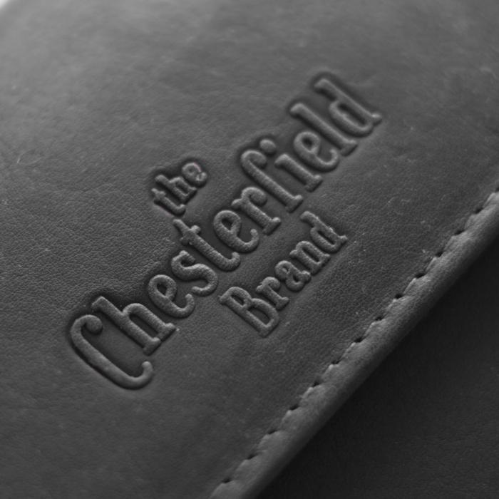 Portofel The Chesterfield Brand, cu protectie anti scanare RFID, din piele naturala moale, Ascot, Negru [4]