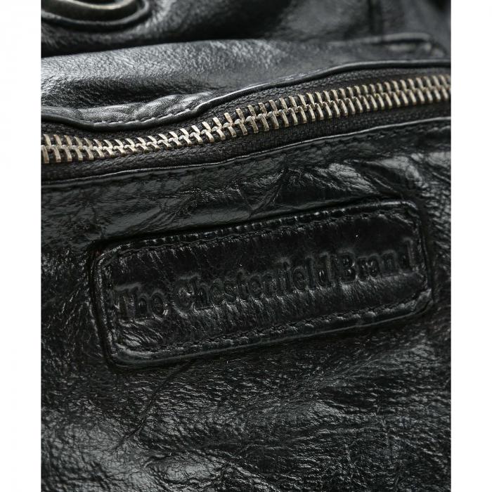 Rucsac de dama The Chesterfield Brand din piele moale, Jace, Negru [3]