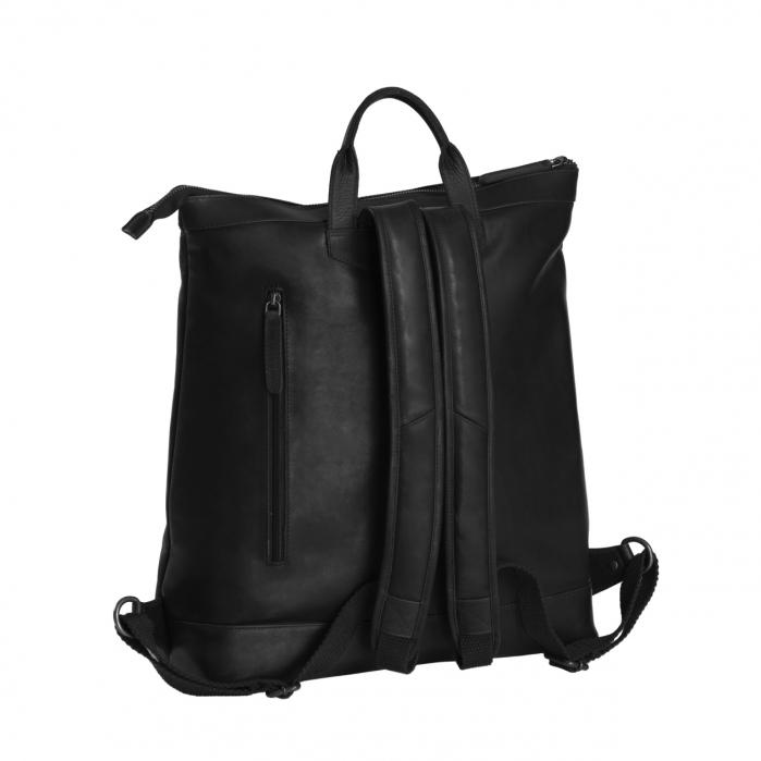 Rucsac de laptop din piele naturala, The Chesterfield Brand, Kuta 15.6 inch, Negru [1]