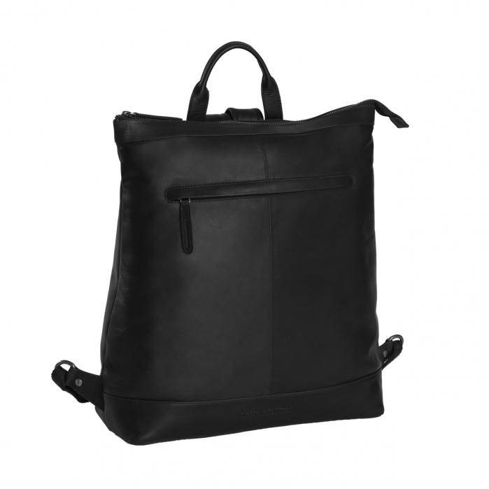Rucsac de laptop din piele naturala, The Chesterfield Brand, Kuta 15.6 inch, Negru [0]