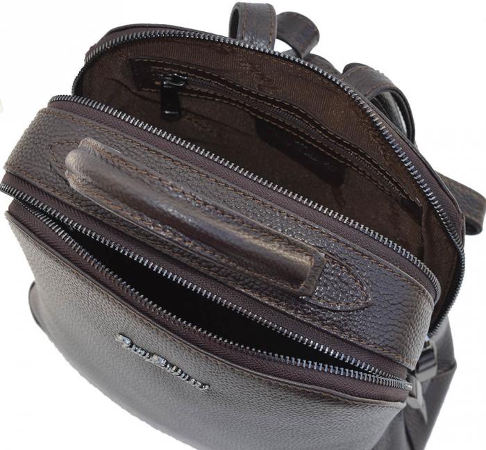Rucsac din piele maro, marca Tony Bellucci, model T121 [3]