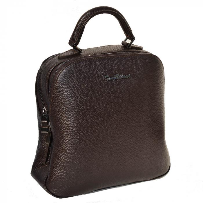 Rucsac din piele maro, marca Tony Bellucci, model T121 [1]