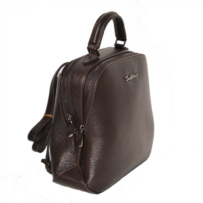Rucsac din piele maro, marca Tony Bellucci, model T121 [0]