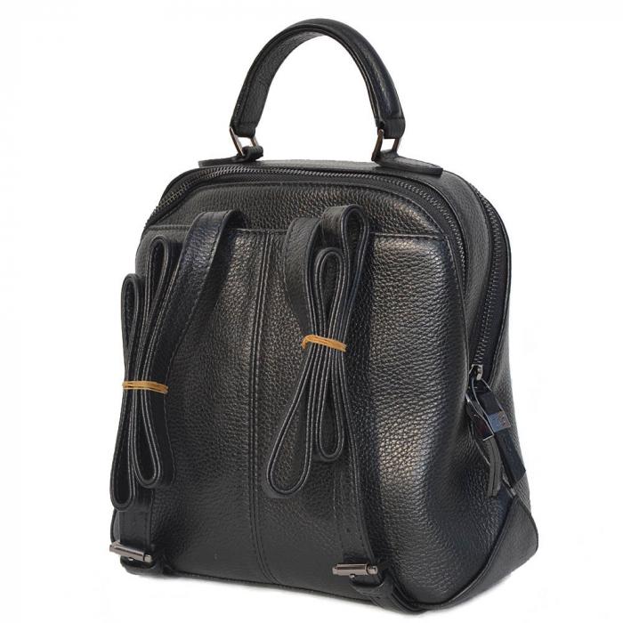 Rucsac din piele neagra, marca Tony Bellucci, model T121 [1]