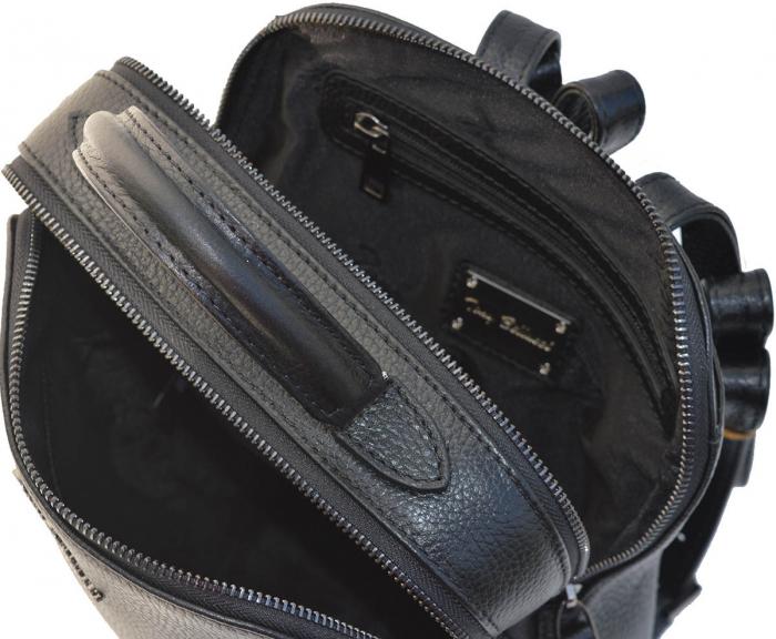 Rucsac din piele neagra, marca Tony Bellucci, model T121 [2]
