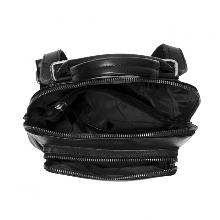 Rucsac / geanta de dama din piele naturala, The Chesterfield Brand, Sienna, Negru [2]