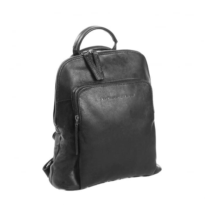 Rucsac / geanta de dama din piele naturala, The Chesterfield Brand, Sienna, Negru [0]