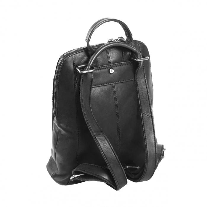 Rucsac / geanta de dama din piele naturala, The Chesterfield Brand, Sienna, Negru [5]
